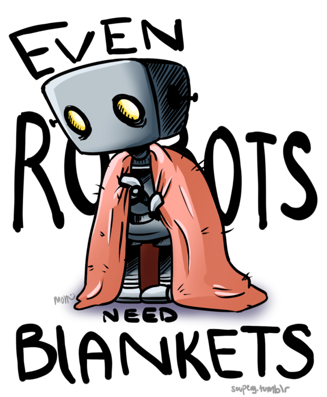 Even Robots Need Blankets - Post Music Scene